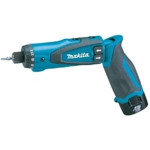 a picture of Makita DF010DSE 7.2-Volt Lithium-Ion Cordless Driver with the lightest weight among the best cordless screwdriver for electricians