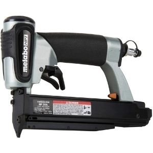 Among the best cordless pin nailers is the Metabo HPT Pin Nailer Kit illustrated above that comes as a complete package and guarantees safety through its dual trigger