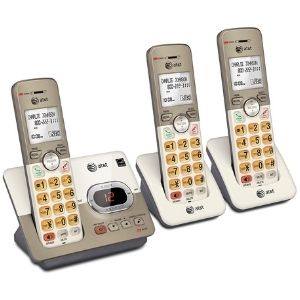 Above is a representation of the AT&T EL52313 3-Handset Expandable Cordless Phone with Answering System, which is one of the best cordless phone for visually impaired