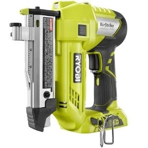 Here is an illustration of one of the best cordless pin nailers, the New Ryobi One+ 18V 23 Gauge Cordless Pin Nailer that features a manageable weight of 1.52 pounds for maximum convenience