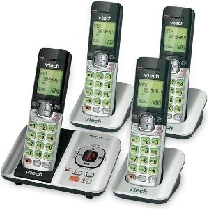 Among the cordless phones for seniors with dementia, VTech CS6529-4 DECT 6.0 Phone Answering System with Caller ID/Call Waiting is an exclusive unit you need for your parents or gurdians