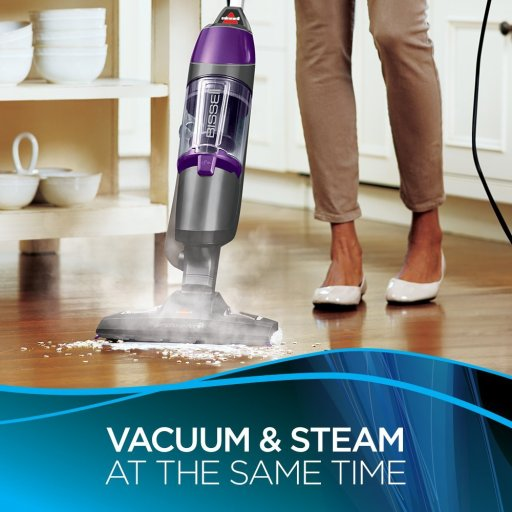 BISSELL Symphony Pet All-in-One Vacuum and best steam mop