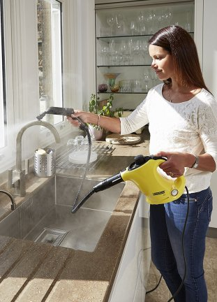 Karcher SC1 handheld steam cleaner