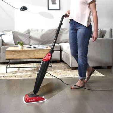 O-Cedar Microfiber Steam Mop No Chemicals