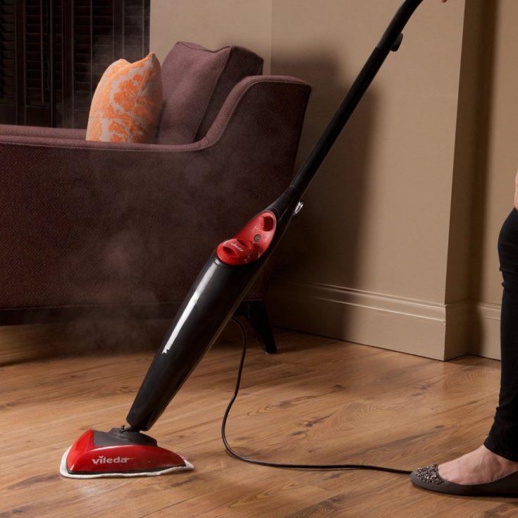 vileda steam mop