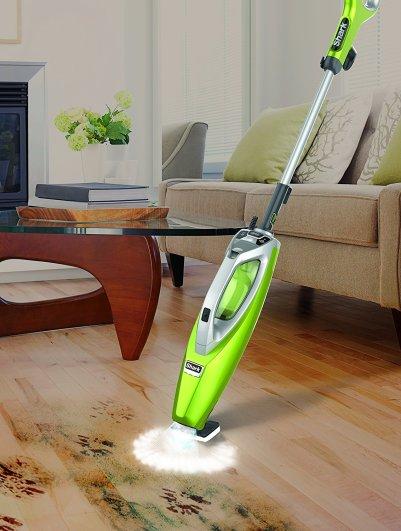 Shark 2-in-1 Blast Scrub Steam Pocket Mop, slate floors