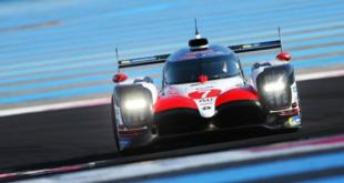 TOYOTA REALIZÓ TESTS EN PAUL RICARD