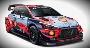 HYUNDAI PRESENTÓ SU WRC 2020