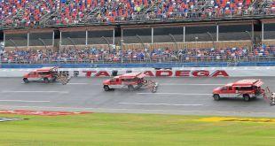 LA NASCAR EN TALLADEGA PASA PARA EL LUNES