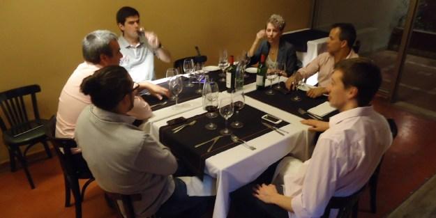 Una cena bien conversada.