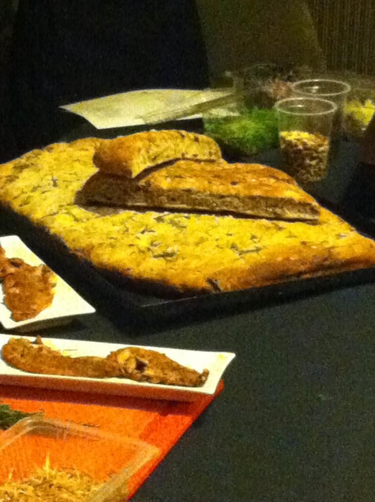 Clase de cocina en La Revolución (Foto: VOS.com.ar).