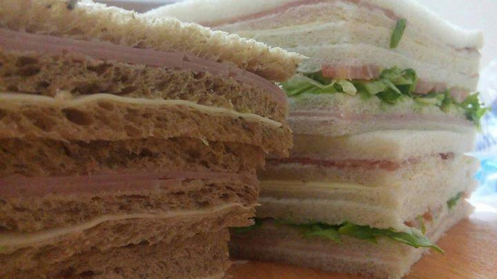 Sándwiches de miga de Gut!, uno de los emprendedores recomendados.