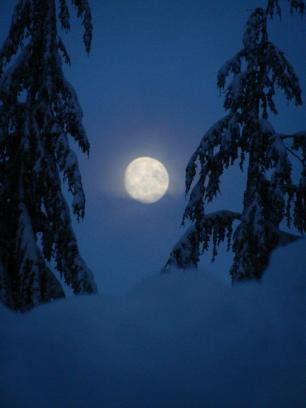 Hello, moon.