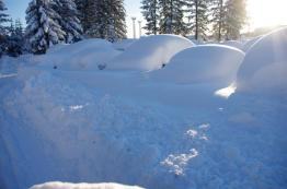 Hope you weren't one of those that had to dig their car out at the airport
