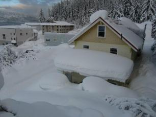1 of 6 - Panorama of Signe's house - Jan 6th