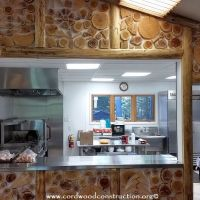 Cordwood Siding rocks the Cordwood Education Center