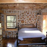 Off Grid Cordwood Cabin