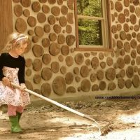 "Cordwood Cabin (with 24"" thick walls) is energy efficient & fortress-like (revisited)"