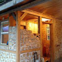 Yooper Cordwood Sauna