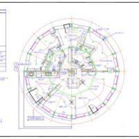 Cordwood House Plans