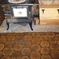Cordwood Floor Article