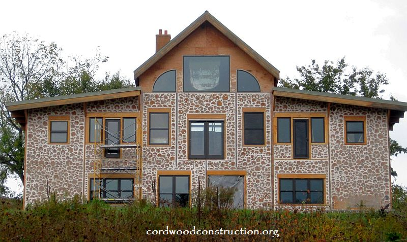Cordwood Homes Inside Amp Out Cordwood Construction