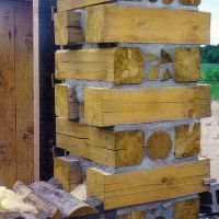 Easy Peasy Stackwall Corners with Cordwood