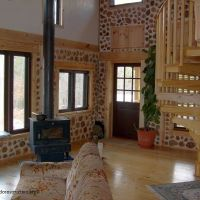 Take a Peek Inside a Cordwood Home