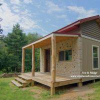 Cordwood Cabin & 35 acres for Sale in Wisconsin