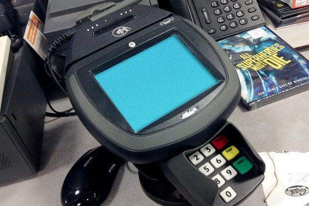 POS card reader