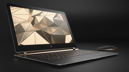 hp spectre 13.3 right facing paired with wireless mouse 100654245 orig