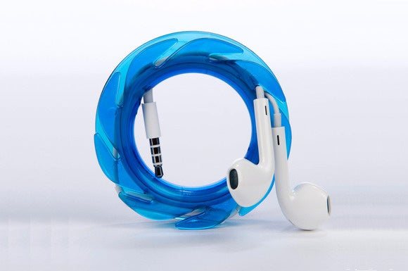 The Loop earbud cable organizer