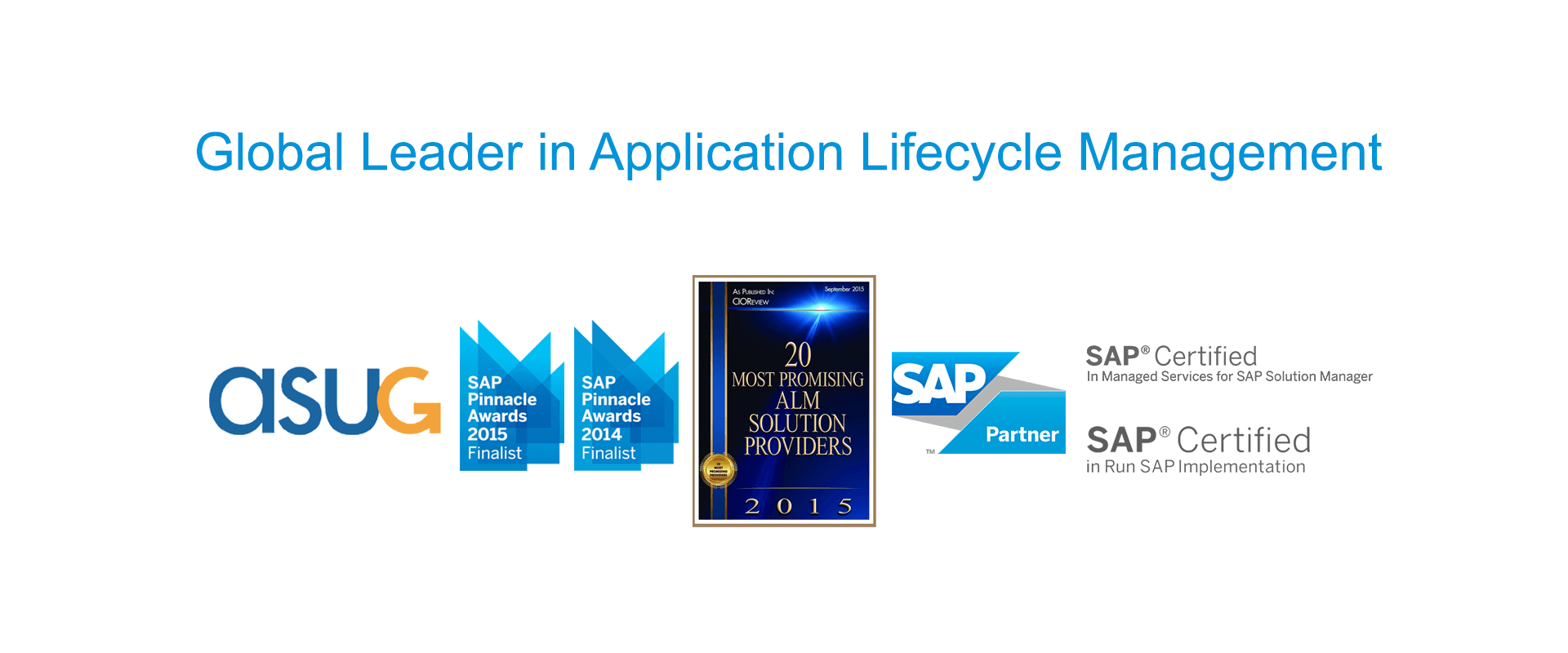 Global Leader in SAP Application Lifecycle Management