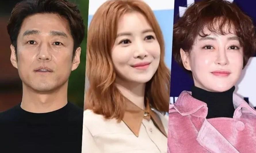 Ji Jin Hee, Yoon Se Ah e Kim Hye Eun no elenco de um novo drama da tvN