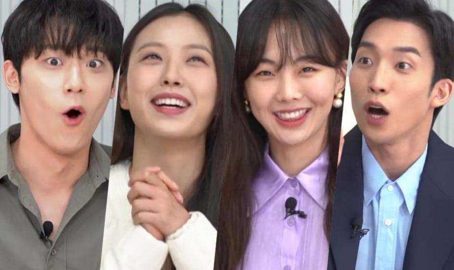 Elenco de 'Youth Of May' se torna competitivo com quiz sobre tolerância ao álcool de Lee Do Hyun, Go Min Si em 'Sweet Home' e mais