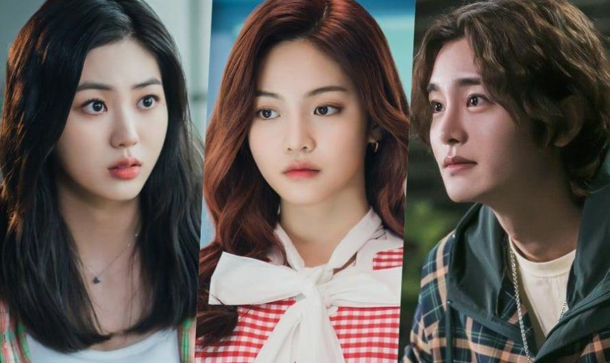 Eunbin do CLC, Woo Davi e Choi Jung Woo  brilham com energia juvenil no próximo drama universitário