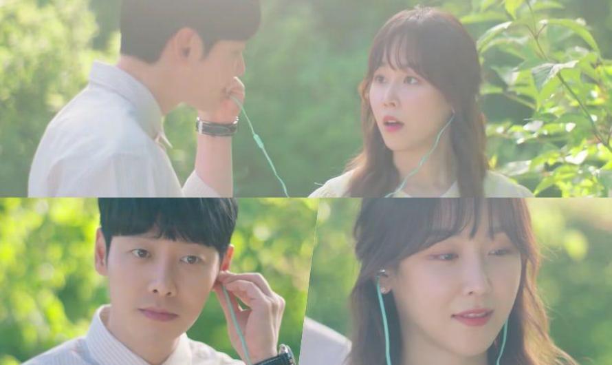Seo Hyun Jin e Kim Dong Wook têm um encontro doce e primaveril no teaser do novo drama