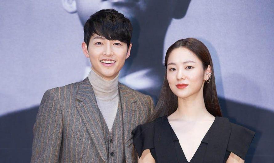 Song Joong Ki mostra amor pela co-estrela de 'Vincenzo' Jeon Yeo Bin no set de seu novo drama