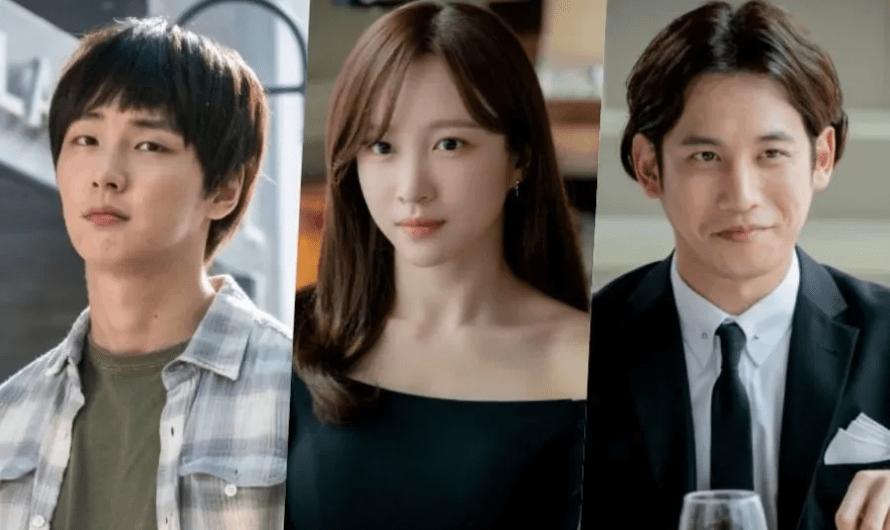 Yoon Shi Yoon, Hani e Park Ki Woong são pegos em um triângulo amoroso no novo drama 'You Raise Me Up'