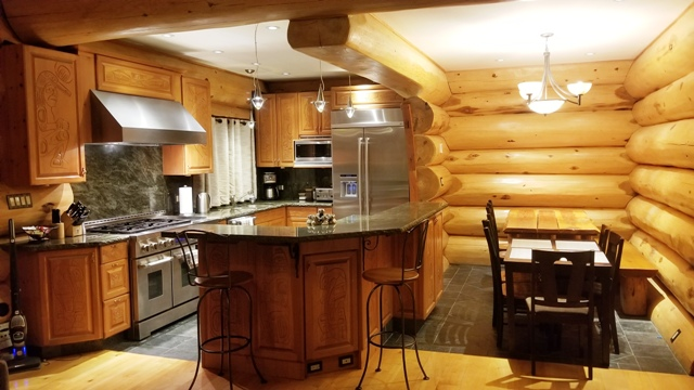 Core Ski Snowboard Camp Kitchen