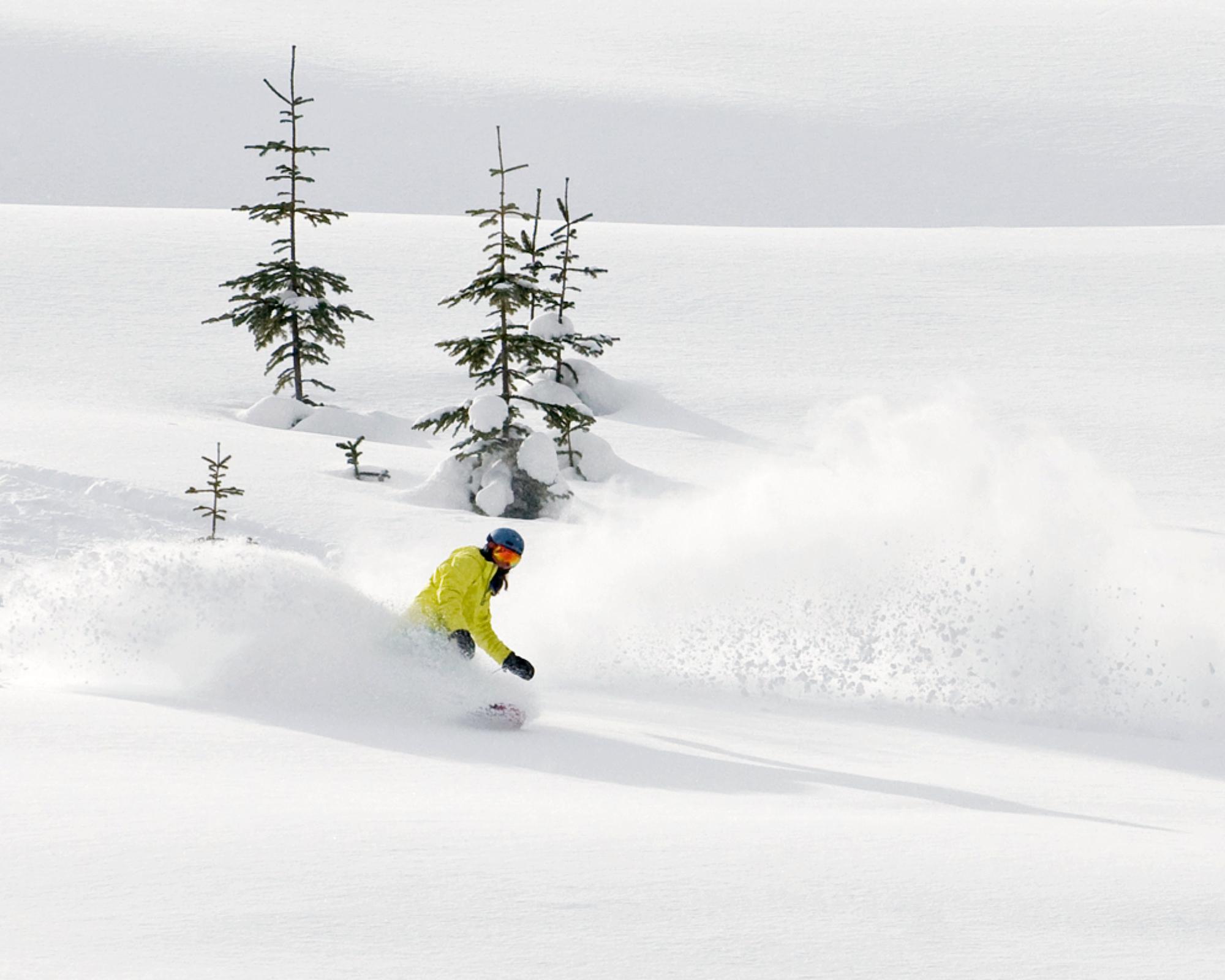Womens Snowboard Course Whistler Canada