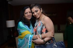 Baisa Pushpita Singh of Kharwa with Rimple Narula