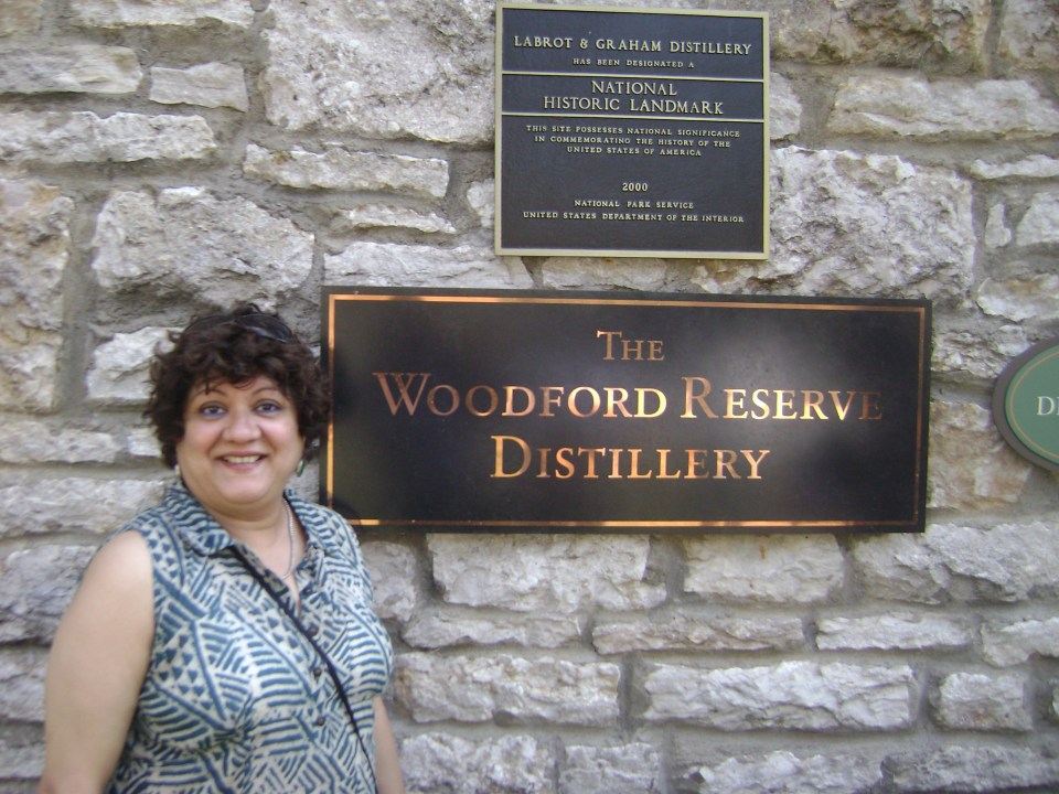 at Woodford Reserve