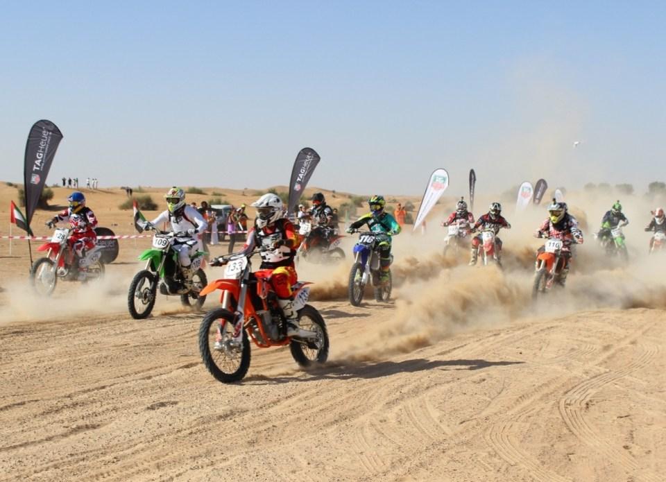 Emirats DC Rnd 2 bikes