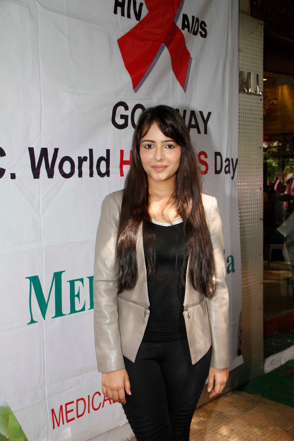 Aanchal Munjal At World AIDS Day Event