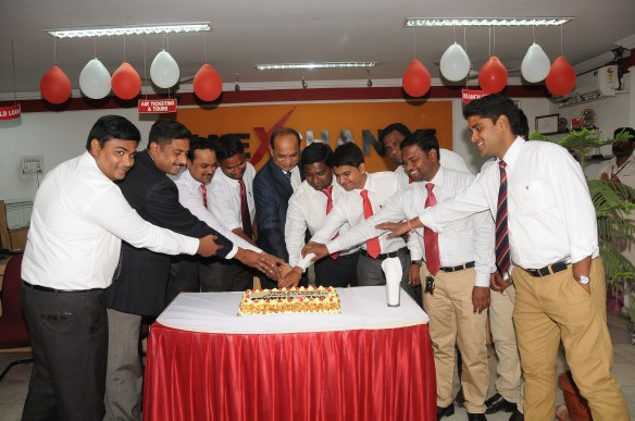 Collective inauguration of 9 branches by MD