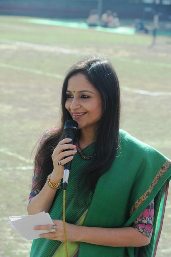 Shalu Jindal at Delhi Dream Girls Football Tournament Finals organised by CEQUIN at sanskriti School