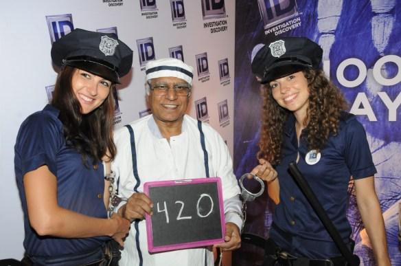 Pratap Bose at ID booth at Goafest 2015