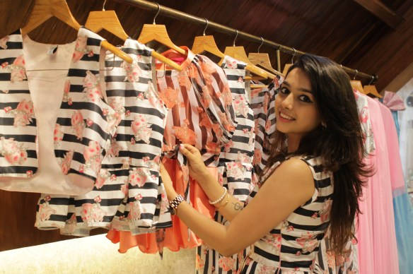 Sonam Parmar at  her Surreal Summer collection launch at Amara copy