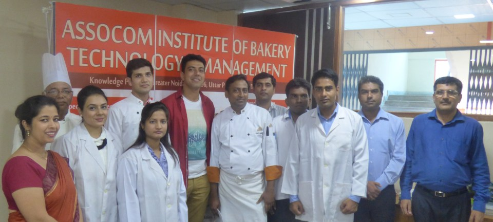 AIBTM Staff with Celebrity Chef Ranveer Brar